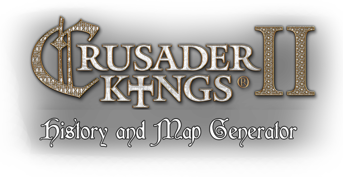 CK2Generator – History and Map Generator for Crusader Kings 2